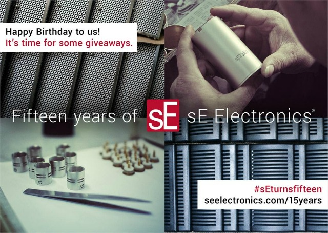 sE Electronics Announces Massive Giveaway