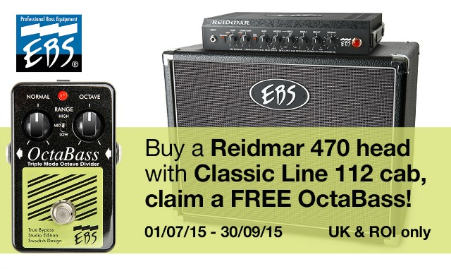 Buy A Bass Amp - Get A Free Pedal