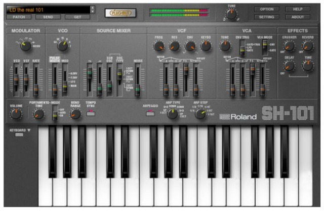 Summer NAMM 2015: SH-101 Soft Synth