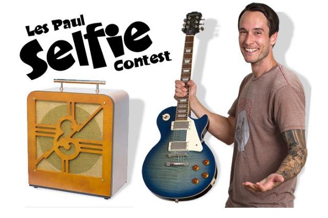 Epiphone Les Paul Selfie Giveaway