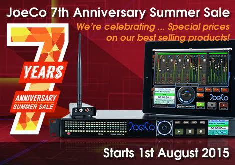 JoeCo 7th Anniversary Summer Sale