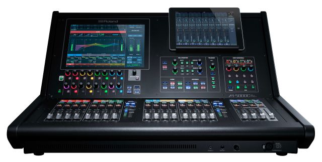New Roland Live Mixing Console