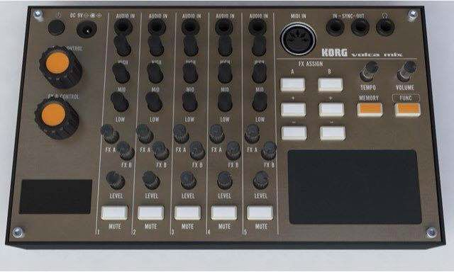 Korg Volca Mixer - Its Not Real But Should Be