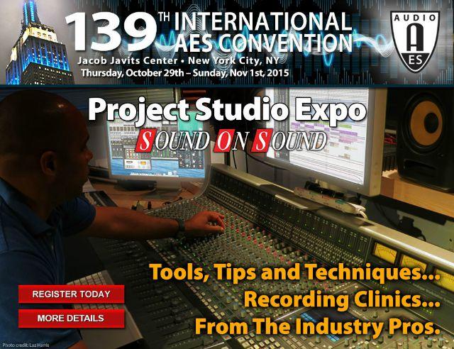 Project Studio Expo Returns
