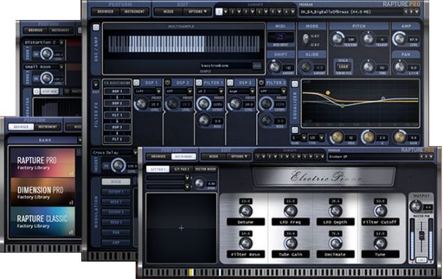 Cakewalk Offers Free Demo Of Rapture Pro