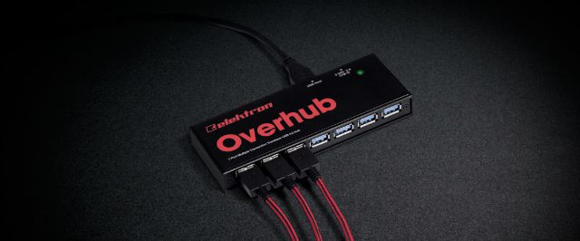 Elektron Introduces Overhub