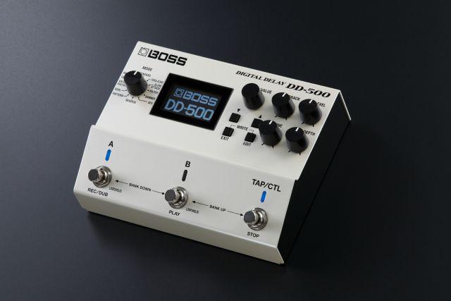 BOSS Pedal Creates Any Delay Sound