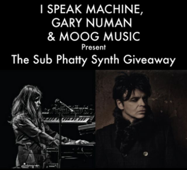 Win A Moog Synth Signed By Gary Numan