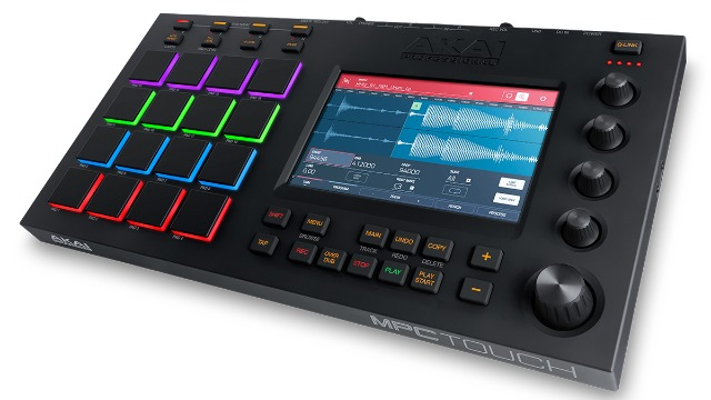 Akai Drop Totally New MPC Touch