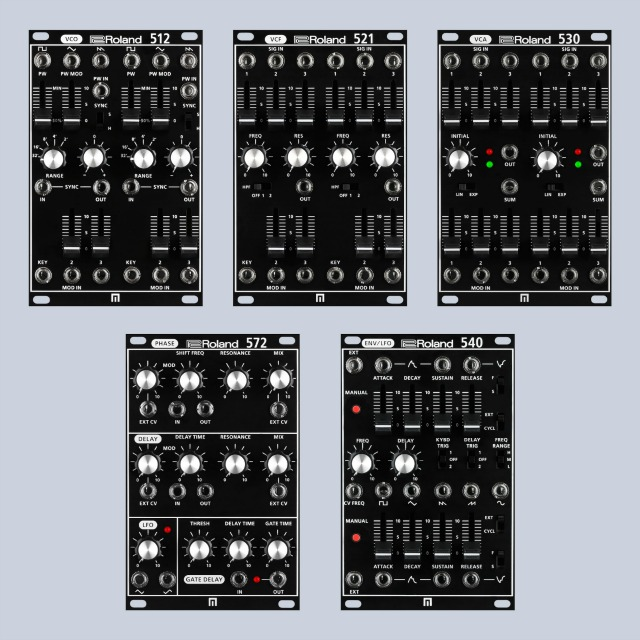 New Roland SYSTEM-500 Modules