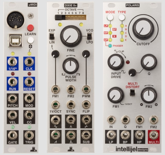 Three New EuroRack Modules From Intellijel