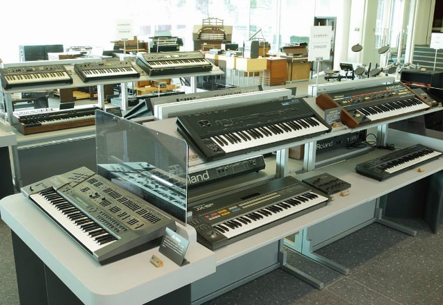 A Peek Inside Roland's Synth Museum