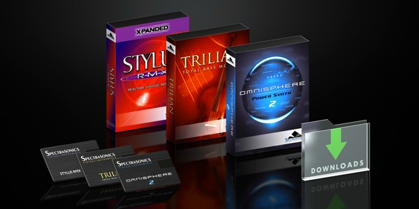 Spectrasonics Drop DVDs Add USB Drive and Download