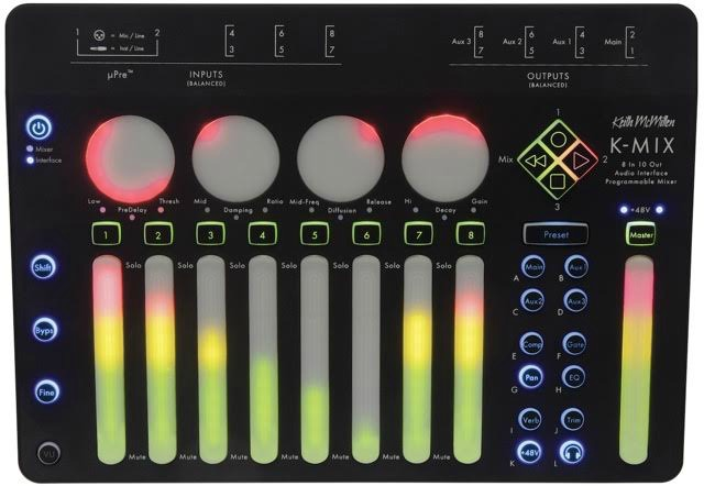 Keith McMillen Instruments K-MIX Available