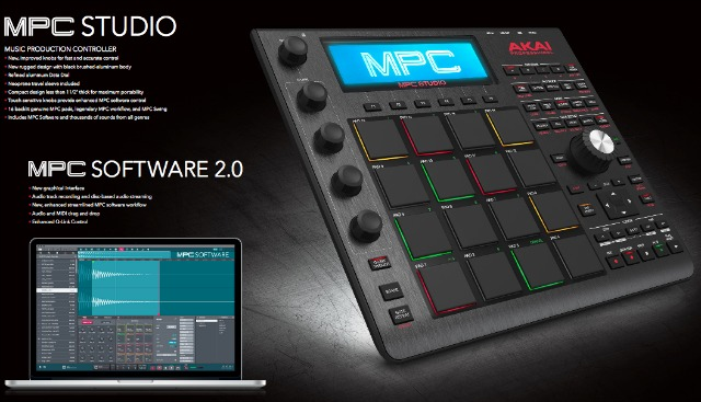 NAMM 2016: New Versions Of Akai MPC