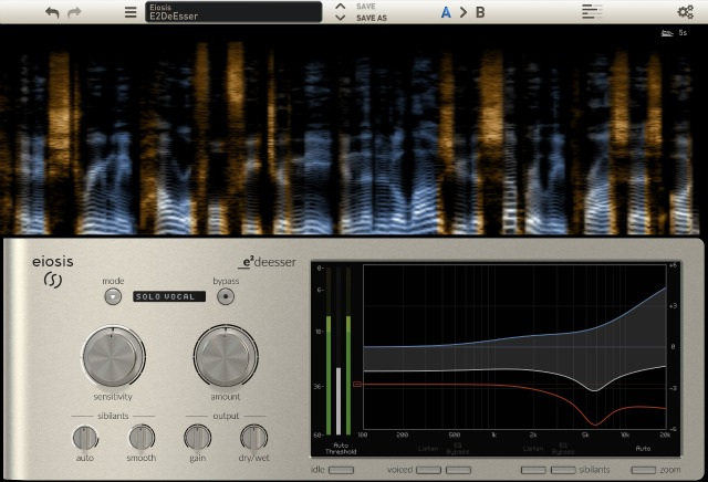 NAMM 2016: New Eiosis Deesser Plug-In