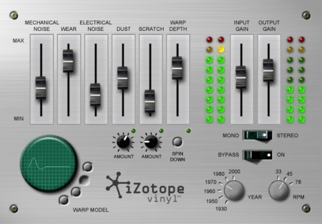 Free iZotope Plug-In For Lo-Fi Sound