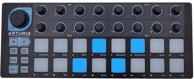Arturia - Beatstep Now In Limited Edition Black