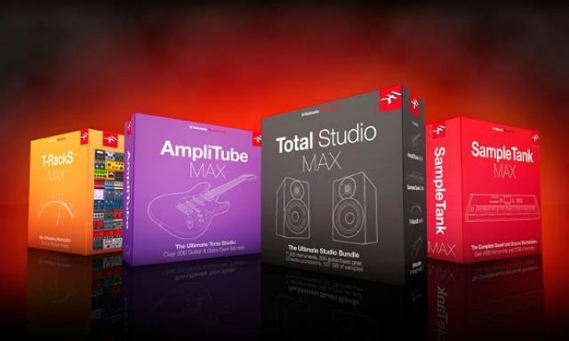 IK Multimedia Releases MAX bundles