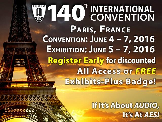 AES Paris Convention News