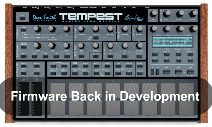 Petition To Fix Tempest Drum Machine Bugs Gets Results