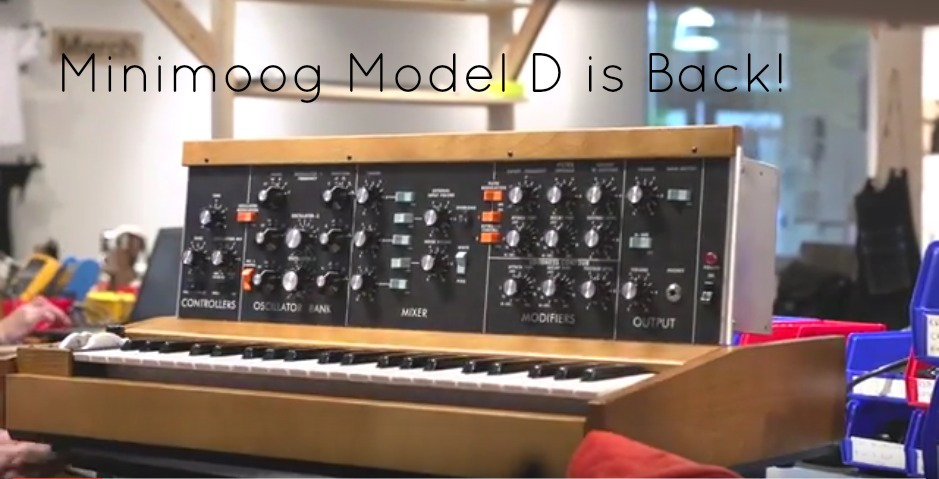 Moog Are Making Minimoog Model D Again