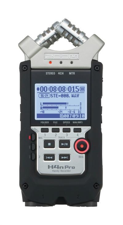 New Zoom Hand-Held Digital Recorder