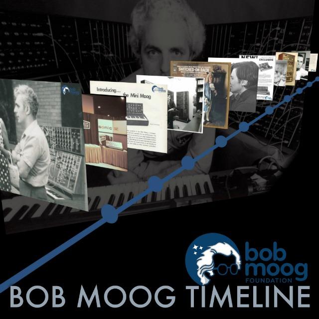 Bob Moog Timeline 1934-2005