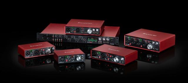 Focusrite Audio Interface Range Improved
