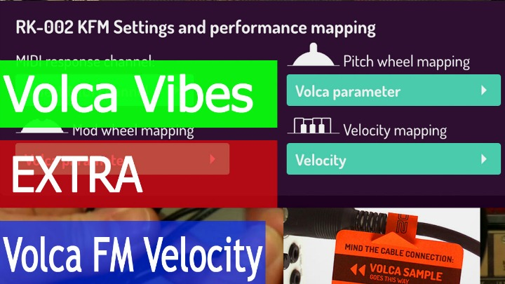 Volca Vibes: RetroKits Solves Volca FM MIDI Velocity Issue