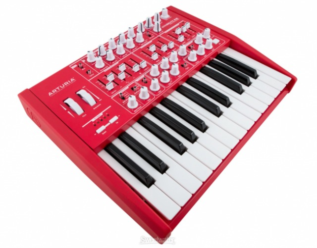 Arturia's Limited-Edition Red Synths