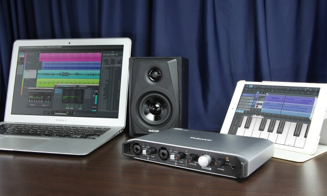 New Tascam Audio Interface For iPad