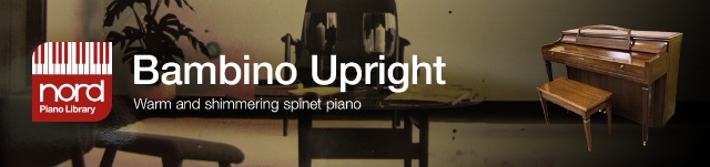 Nord Piano Library Gets Upright