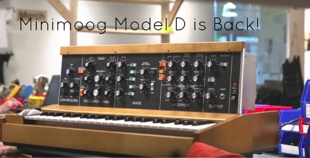 Moogfest MiniMoog Model Ds Ship