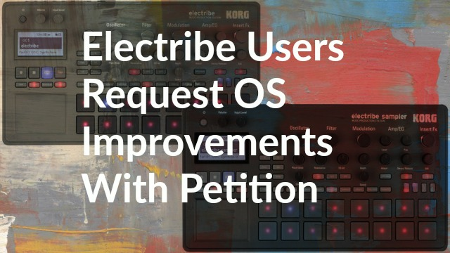 Action For Electribe Updates