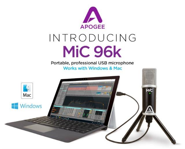 Apogee MiC 96k For Windows And Mac