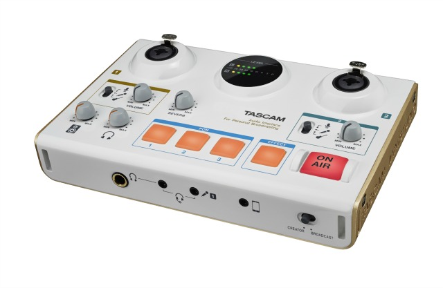 New TASCAM MiNiSTUDIO Audio Interfaces