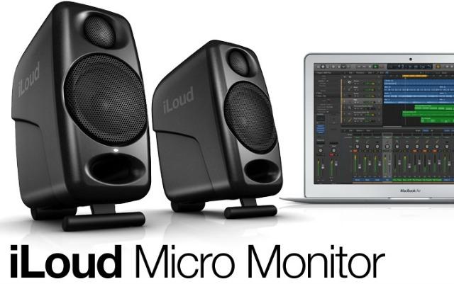 IK Multimedia's Compact Studio Monitors
