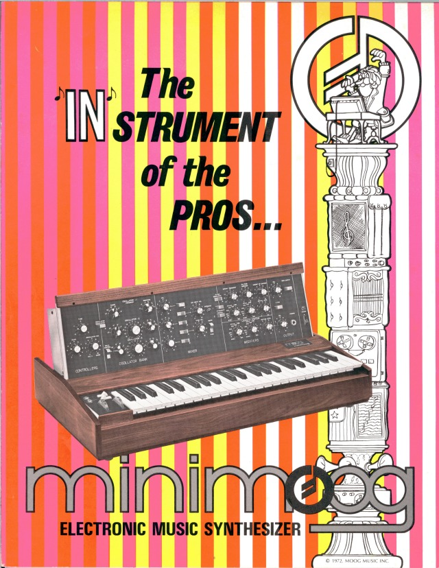 Check Out Vintage Moog Catalogs