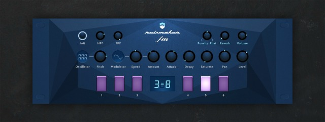 FM Percussion Synth For iOS