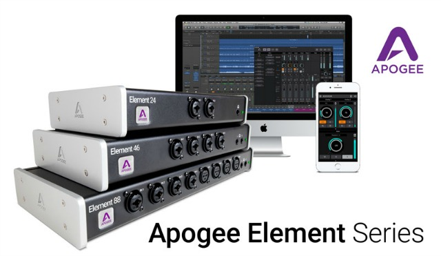 New Apogee Thunderbolt Audio Interfaces