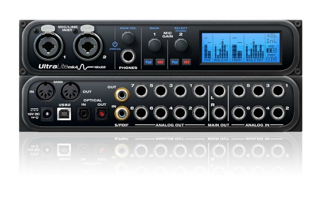 New MOTU Audio Interface