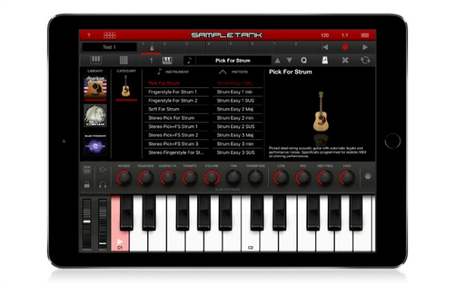 SampleTank 2 For iOS Gets New Instruments