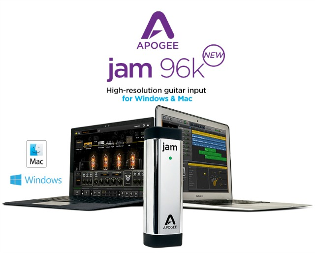 Apogee  JAM 96k For Windows and Mac