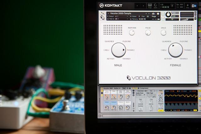A Retro-Futuristic Vocal Machine