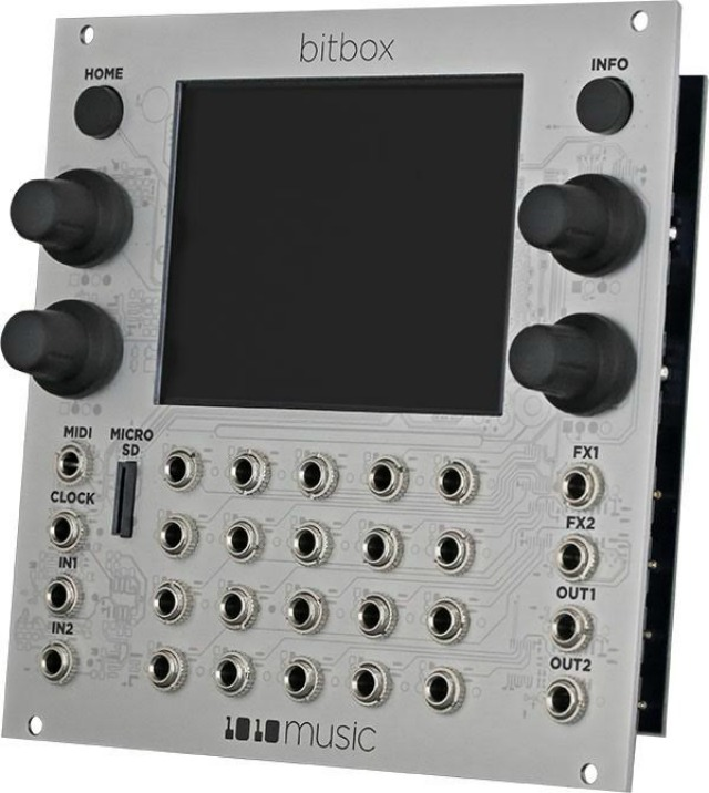 Touch Screen Eurorack Sampler Module