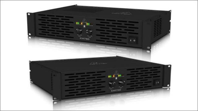 New Behringer Power Amps