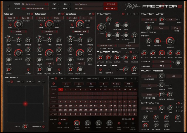 New Version Of Predator Synth