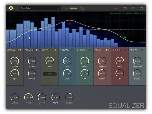 Multi Effect Processor For iPad/iPhone