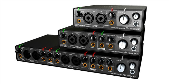 New Roland Audio Interfaces